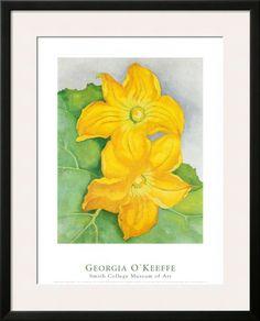 Georgia O'Keeffe, Squash Blossoms