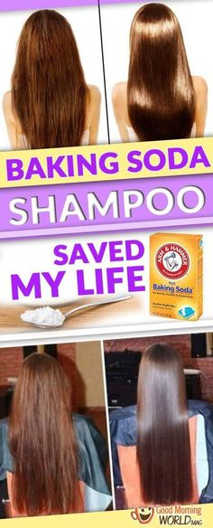 Did you know that baking soda is an incredibly effective and inexpensive way to clean your hair? Check out! Baking Soda For Hair, Baking Soda Shampoo, Natural Hair Styles, Long Hair Styles, Natural Beauty, Organic Beauty, Hair Remedies, Tips Belleza, Hair Health