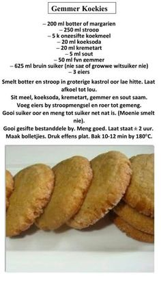 Fun Baking Recipes, Donut Recipes, Tart Recipes, Cookie Recipes, Dessert Recipes, Desserts, Rusk Recipe, African Dessert, Ginger Snap Cookies