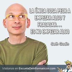 Seth Godin  #motivación #tecnología