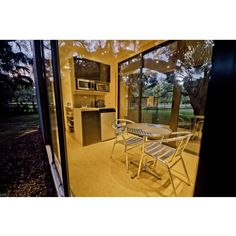 THE HAB TINY CONTAINER HOME | THE CASA CLUB Building A Container Home, Container Cabin, Container Buildings, Container House Design, Small House Design, Cargo Container, Small Shipping Containers, Shipping Container Home Designs, Shipping Container House Plans