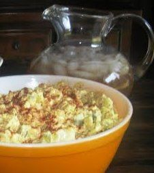 Cooking with K   Southern Kitchen Happenings: Moms Southern Style Potato Salad {Grannys Recipe}