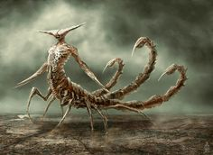 Scorpio by Damon Hellandbrand | Fantasy | 2D | CGSociety