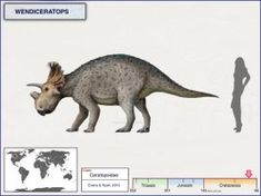 Wendiceratops by cisiopurple on DeviantArt Jurassic World Dinosaurs, Jurassic Park World, Reptiles, Extinct Animals, Dinosaur Art, Happy Tree Friends, Prehistoric Creatures, Chibi, Creature Design