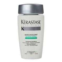Kérastase Spécifique Bain Divalent - Shampoo 250ml  Shampoo equilibrante da oleosidade para cabelos mistos, com raízes oleosas e comprimento...