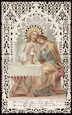"""""""What does Jesus Christ do in the Eucharist? It is God who, as our Savior, offers himself each day for us to his Father's justice. If you are in difficulties and sorrows, he will comfort and relieve you. If you are sick, he will either cure you or give you strength to suffer so as to merit Heaven. If the devil, the world, and the flesh are making war upon you, he will give you the weapons with which to fight, to resist, and to win victory. If you are poor, he will enrich you with all sorts…"""