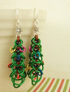 Sale Oh Christmas Tree Earring Tutorial -  Instant Download pdf