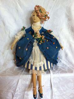 "Lenci Doll 28"" 1925 Boudoir Doll Series 165"