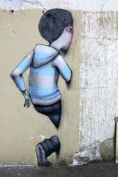 Seth - street art - Paris 5 - rue st jacques