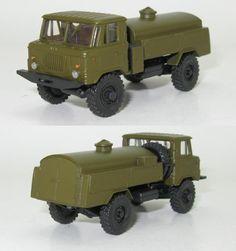 GAZ-66 Treibstoffwagen MZ-66 NVA UdSSr - 1:87 HO