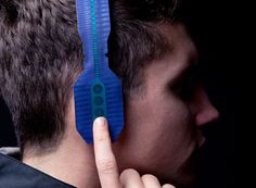 maxime loiseau forms super-thin headphones with printed electronics