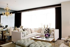 Luxury House Interior Design Tips And Inspiration Luxury Homes Interior, Interior Exterior, Interior Design Tips, Design Ideas, Design Inspiration, Glam Living Room, Home And Living, Living Spaces, Living Rooms