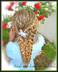 How to do Rapunzel's Braid from Tangled This is from a link in Jamie Cooks It Up! Awesome hair styles for kids, teens, adults!!!!!!! Check it out!