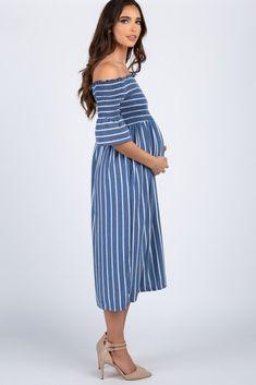 41fd6b4cb5a 10 Best Off shoulder maternity dress images in 2017 | Off shoulder ...