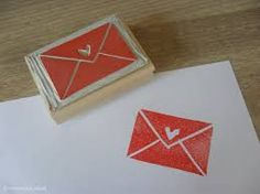 stamp / sello/ carta Diy Stamps, Homemade Stamps, Stamp Printing, Printing On Fabric, Screen Printing, Stencils, Make Your Own Stamp, Eraser Stamp, Stamp Carving