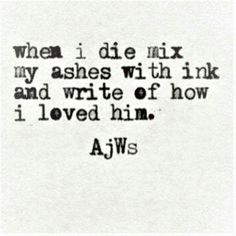 My gosh yes!! But more like mix my ashes with ink and make an amazing story out of me!