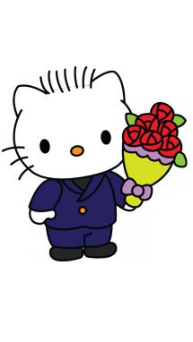 How to Draw Dear Daniel from Hello Kitty step 11