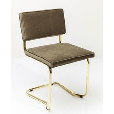 silla basculante Expo dorado | Tiendas On