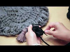 클러치백 뜨기(clutch croche) - YouTube