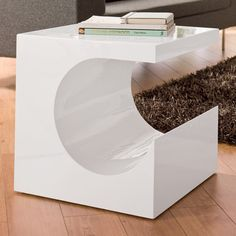 RRP 179 Dwell sculptural side table bedside habitat ikea conran 2 available