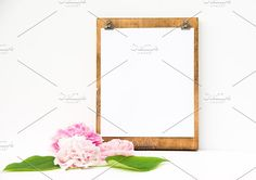 Modern Farmhouse Peonies Clipboard by Charmingly Savvy on @creativemarket