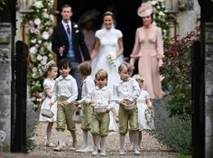 The best images from Pippa Middleton's classic wedding to James Matthews