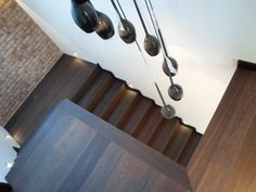 Schody wykonane z drewna podłogowego - idealne połączenie całej powierzchni :)