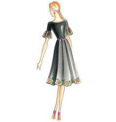 F3440, Marfy Dress