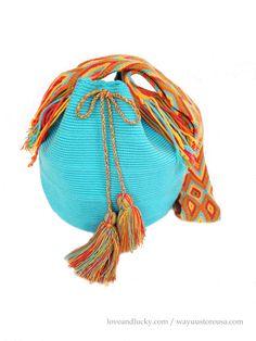 A personal favorite from my Etsy shop https://www.etsy.com/listing/198451696/authentic-crochet-wayuu-mochila-bohemian