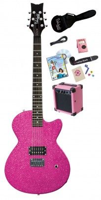 Debutante Rock Candy Princess Electric Pack   Daisy Rock Guitars the Girl Guitar Company SET ON SALE FOR $199