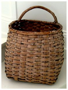 Old Swedish basket