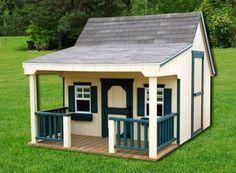 Cottage Playhouse (Painted or Wood) 8x12 | Leland's of Jacksonville