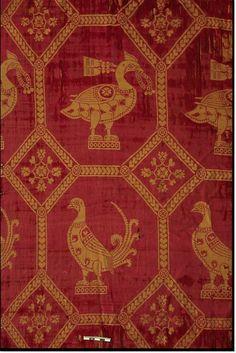 Silk St. Severin Cologne (lived 4th c.) 7th - 9th Century http://www.ksta.de/aufbewahrt-fuer-die-ewigkeit-14066258