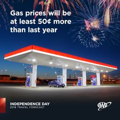 Gas prices are higher this #IndependenceDay, but that's not keeping travelers from packing up their cars for a #roadtrip. #travelforecast www.newsroom.aaa.com Summer Travel, Amazing Destinations, Independence Day, Summertime, Road Trip, National Parks, Packing, Boat, Vacation