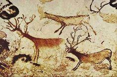 Lascaux painting of reindeer