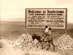 """Tombstone, Arizona """"The Town Too Tough to Die"""" eventually did, becoming one of the great ghost towns of the American West."""
