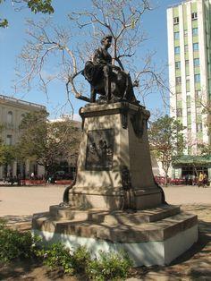 Statue of Marta Abreu,Santa Clara,