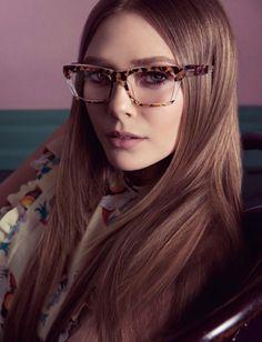 Miu Miu Spring Summer 2014 Eyewear Elizabeth Olsen shot by Inez Van Lamsweerde & Vinoodh Matadin