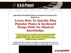 (adsbygoogle = window.adsbygoogle || []).push();     (adsbygoogle = window.adsbygoogle || []).push();  A.S.A.Piano! Learn To Play Easy Beginners Piano & Keyboard Songs Without Reading Music    http://www.asapiano.com/ review     (adsbygoogle = window.adsbygoogle ||...