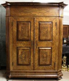 Northern Italian Storage Cabinet, 19th - 20th C. : Lot 578