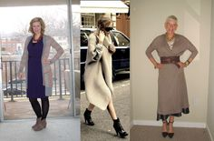 Inspired by Pinterest: Sweatercoat - Two Take on Style