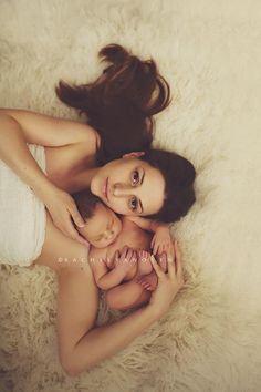 love this mama & baby pose, I don't think I could look good enough to do it tho
