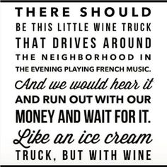 Ice cream truck for adults!