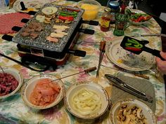 "Carole's Thoughtful Spot: Finally, Our Swiss ""Raclette"" Grill Meal!"