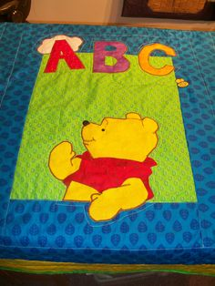 Pooh quilt