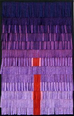 red & purple I Abdoulaye Konaté Shades Of Purple, Red Purple, Textile Patterns, Textile Design, Famous Black Artists, Afrique Art, Contemporary African Art, Creative Textiles, Expo