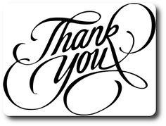 Kabram Krafts: Thank You Sentiment - Free Cutting File SVG & DXF Download