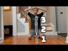 Water Bottle Flip Trick Shots 5 | That's Amazing - YouTube Water Bottle Flip, 2 Brothers, Dude Perfect, Will Smith, Flipping, Shots, Challenges, The Incredibles, Amazing