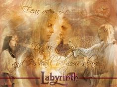 sarah labyrinth fan art | Jareth and Sarah :) by ~abbybiersack on deviantART