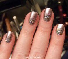 PISTOL polish Like A Boss + holographic glitter